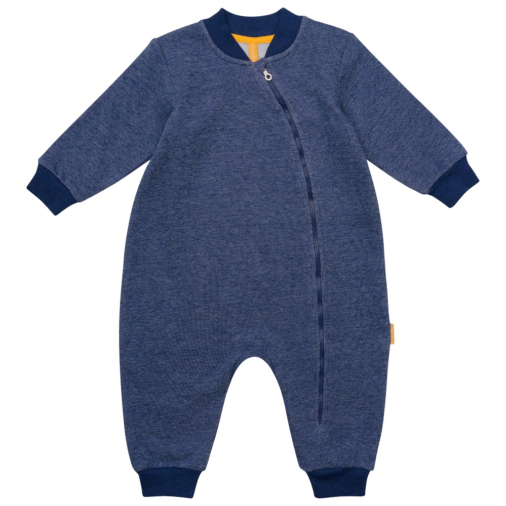 Купить Комбинезон Kogankids для мальчика, синий меланж, Наша Мама, Россия, Синий, 62