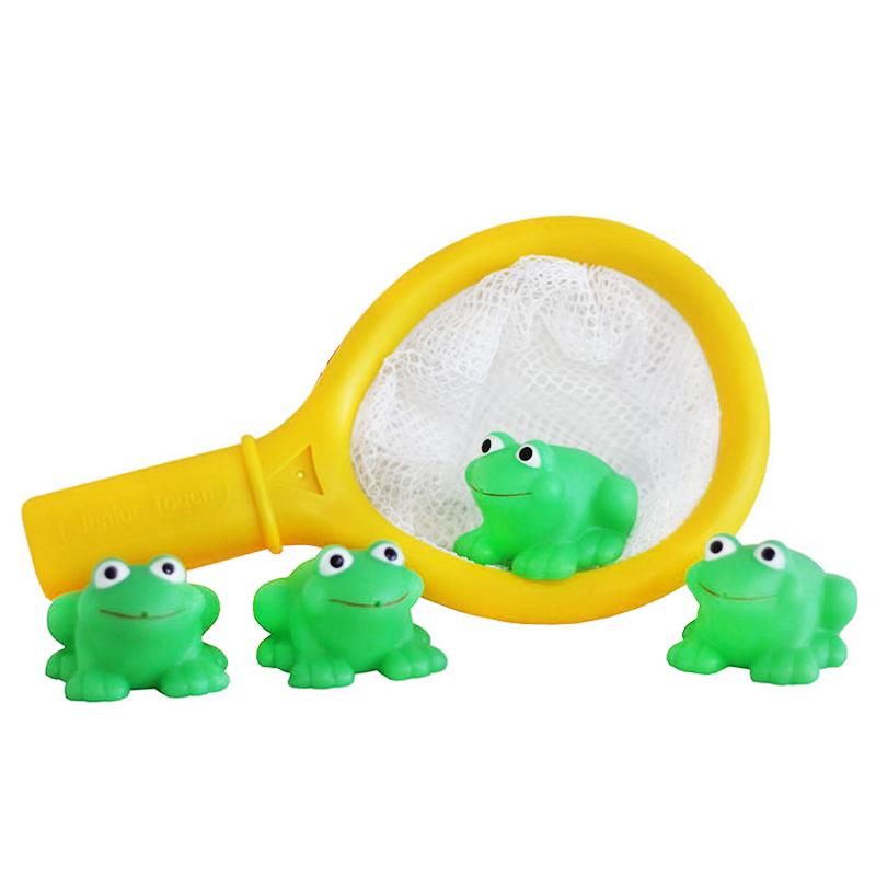 """Игрушка для ванны Bampi """"Рыбалка"""" с лягушками"""