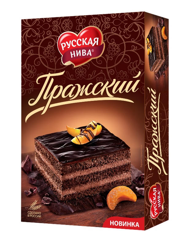 "Торт Русская Нива ""Пражский"", 400гр"