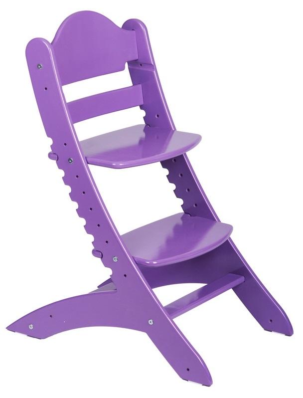 Растущий стул «Два кота» М1, фиолетовый