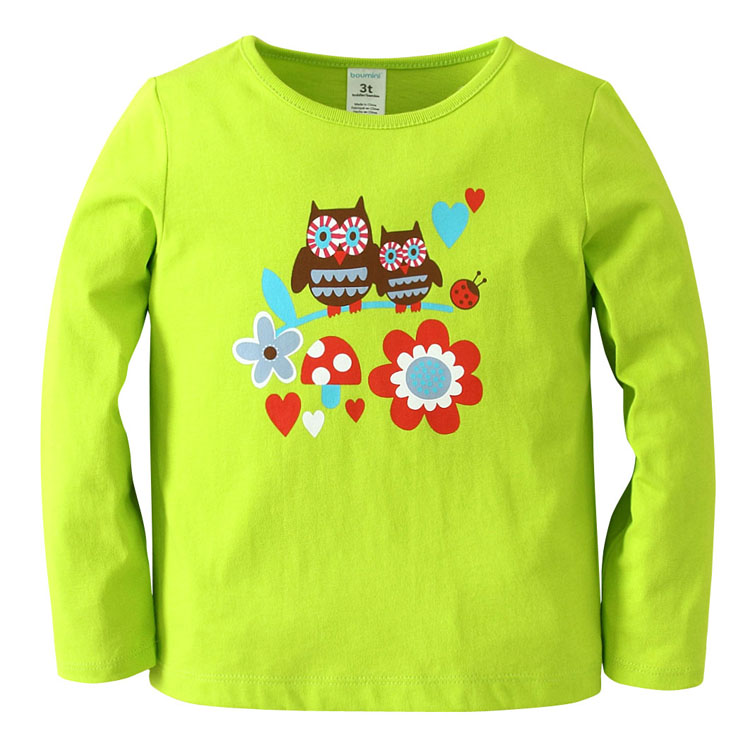 Купить Джемпер детский Boumini Owls, Bembi, Украина, Зеленый, 80