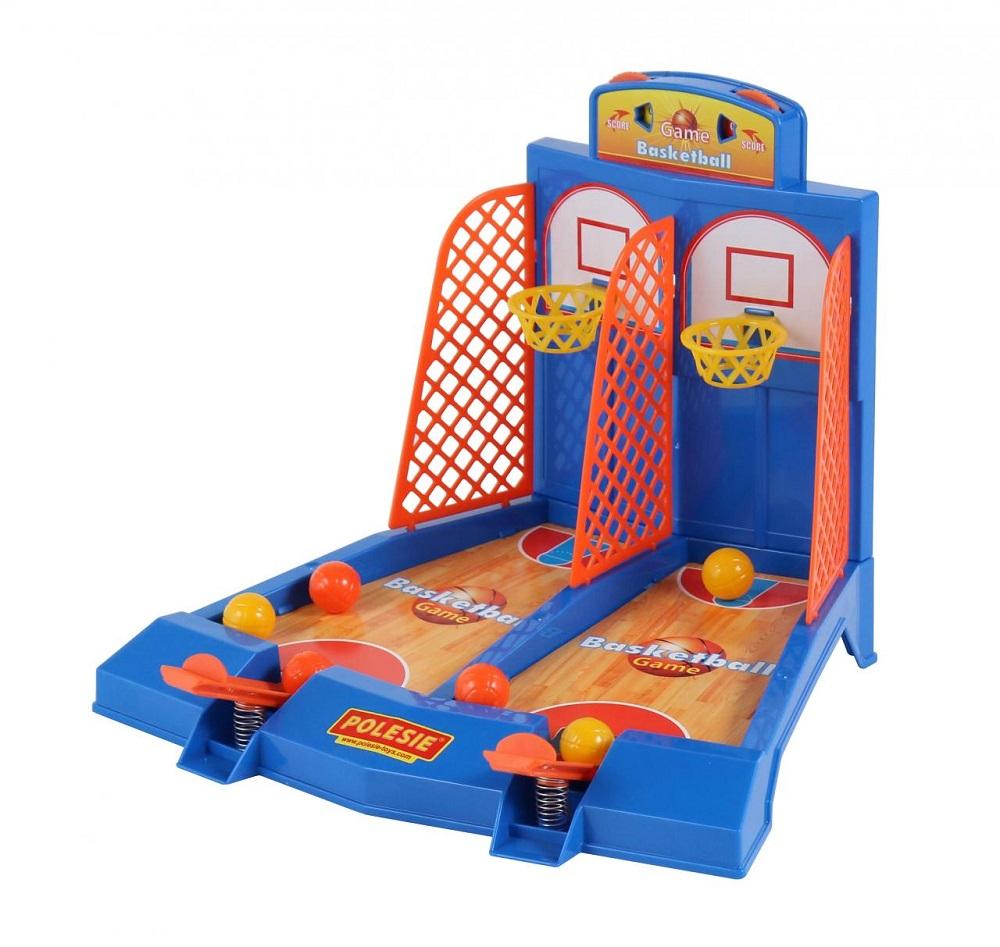"""Игра """"Баскетбол"""" для 2-х игроков, в коробке Полесье"""