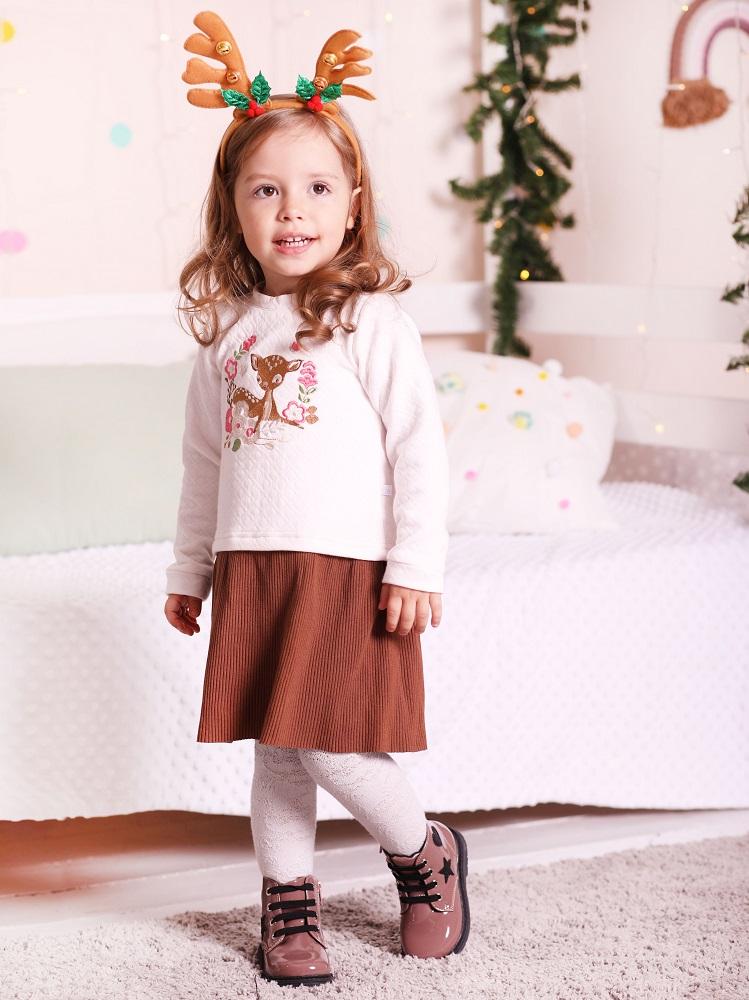 Купить Платье Persona Mini Лесная сказка , молочно-коричневое, Hasbro, США, Мульти, 80
