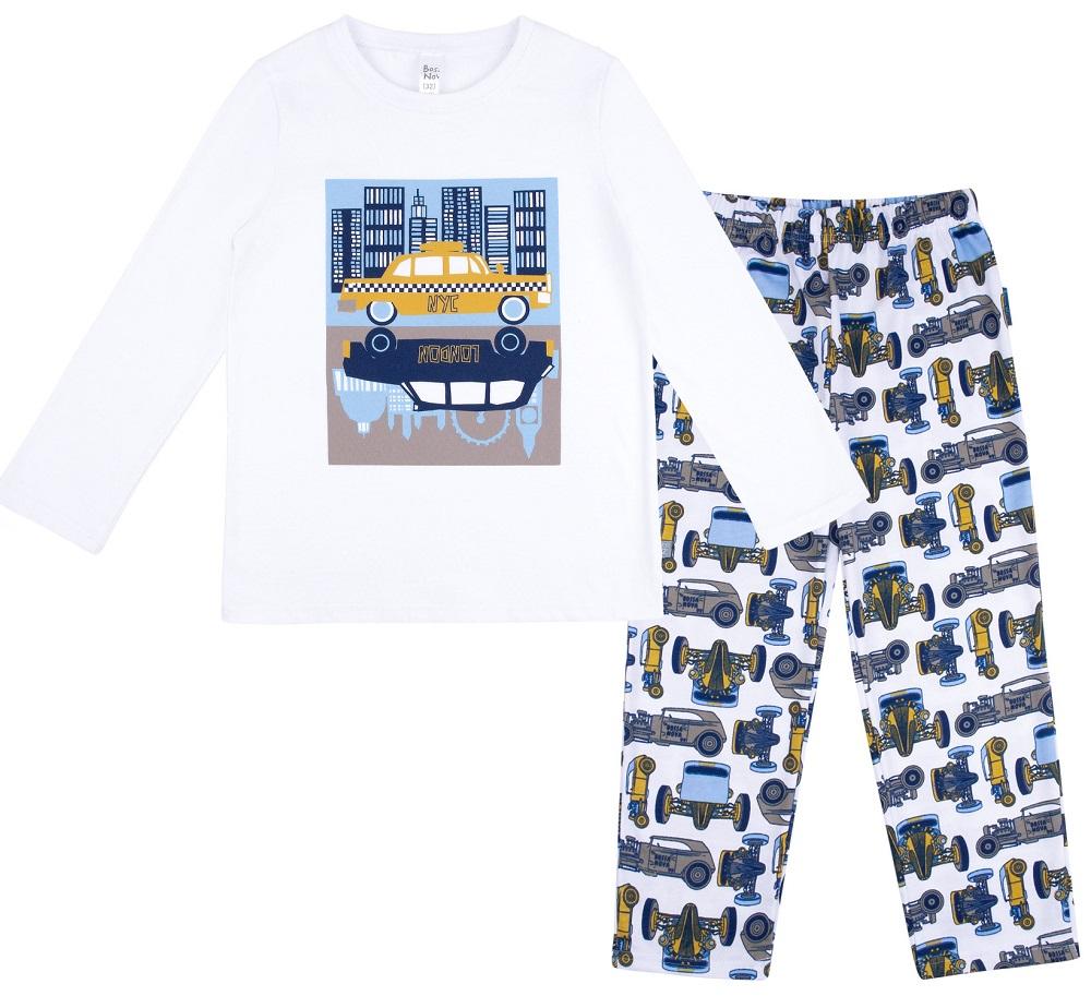 Купить Пижама Bossa Nova Морфей N&L для мальчика: джемпер и брюки, Витоша, Россия, Мульти, 122