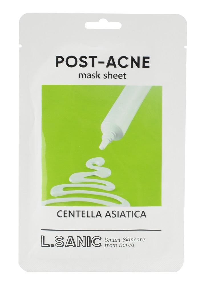 Купить Маска тканевая L.SANIC с экстрактом центеллы азиатской против постакне, 25мл, Южная Корея