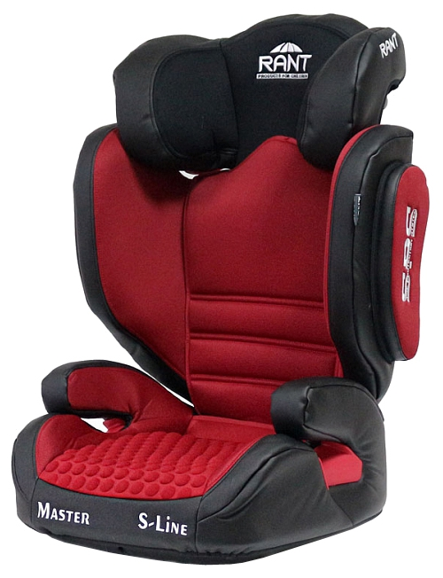 Купить Автокресло Rant BH2311 Master Isofix SPS, красное, 15-36кг, Россия