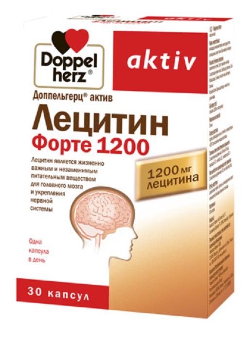 Купить Доппельгерц Актив Лецитин форте 1200 капс. 1865 мг №30, Queisser Pharma