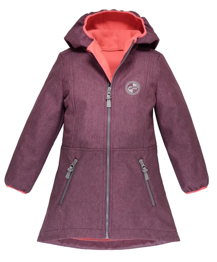 "Куртка для девочки Sherysheff ""Softshell Premium"", сиреневая фото"