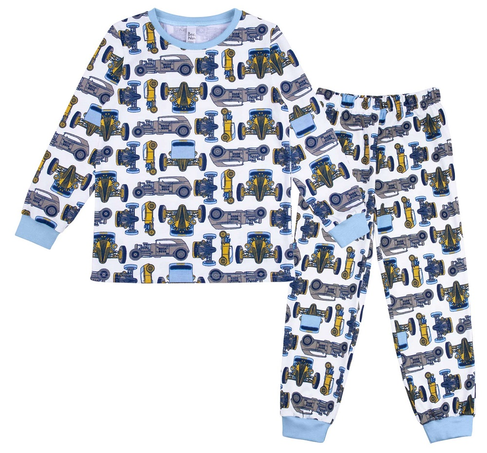 Купить Пижама Bossa Nova Морфей Авто для мальчика: джемпер и брюки, Витоша, Россия, Мульти, 122
