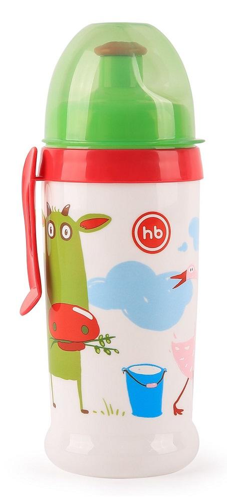 Купить Поильник Happy Baby Feeding Cup Grass с прищепкой, 360мл, Россия