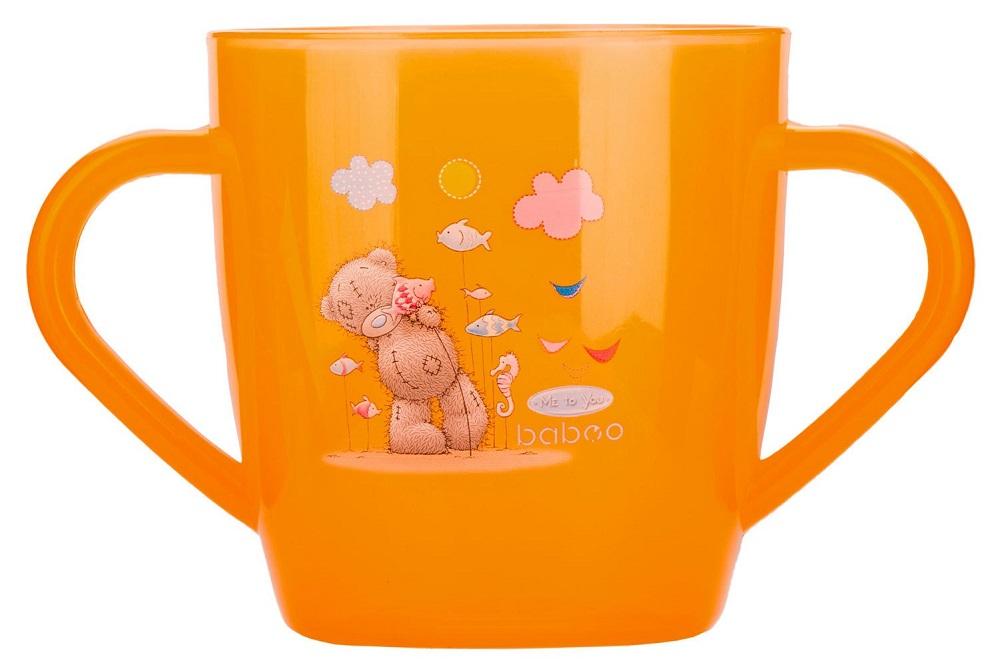 Купить Чашка с ручками Baboo Me to You, 200мл, AVENT Philips, Нидерланды, Оранжевый