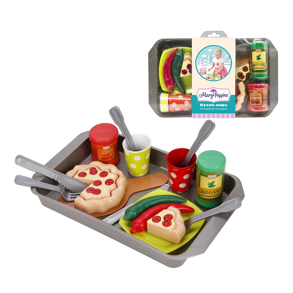 """Набор посуды и продуктов Mary Poppins """"Итальянская пиццерия"""""""
