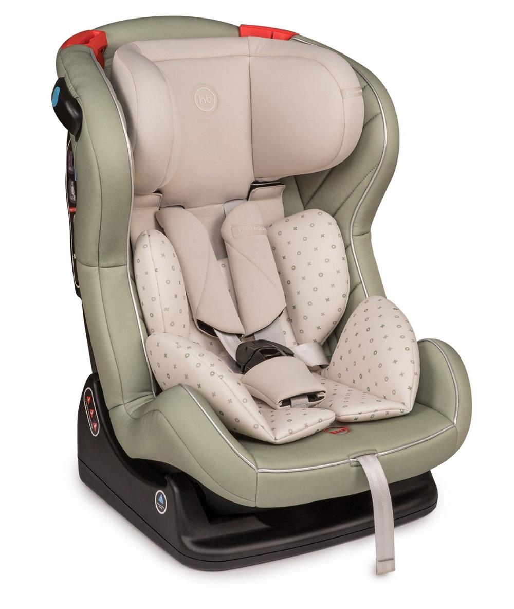Купить Детское автокресло Happy Baby Passenger V2, до 25кг (цвета в ассорт.), Babyhit, Китай, Зеленый