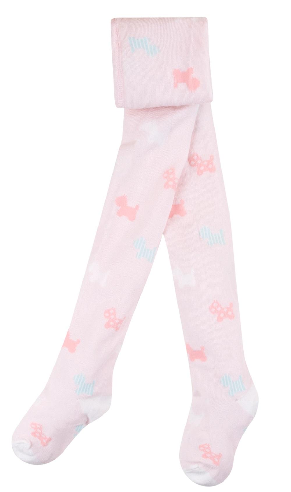 Купить Колготки детские Bossa Nova Собачки , розовые, Incanto, Италия, Розовый, 68