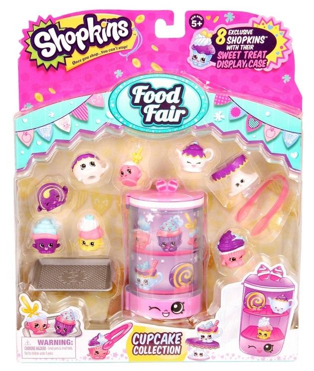 """Игровой набор Shopkins """"Вкусная ярмарка"""" Коллекция кексов, Moose, Австралия  - купить со скидкой"""