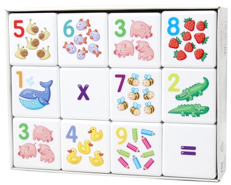 Купить Развивающая игра Десятое королевство Кубики для умников. Арифметика , Россия