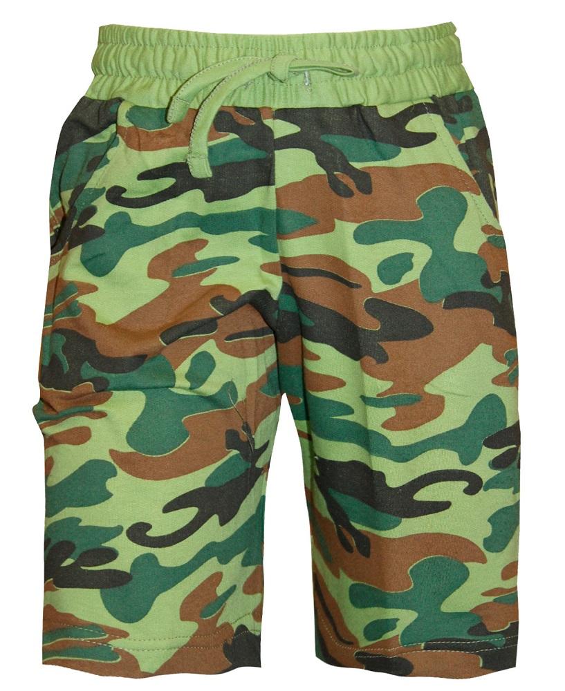 Купить Шорты НОАТЕКС+ 10716 для мальчика, милитари, Polini Kids, Россия, Милитари, 128