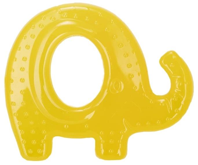 Купить Прорезыватель Baboo Слоник с охлаждающим эффектом, Великобритания, Желтый