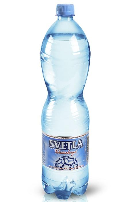 """Вода лечебно-столовая минеральная Svetla """"Краинская"""" газированная, 1,5л"""