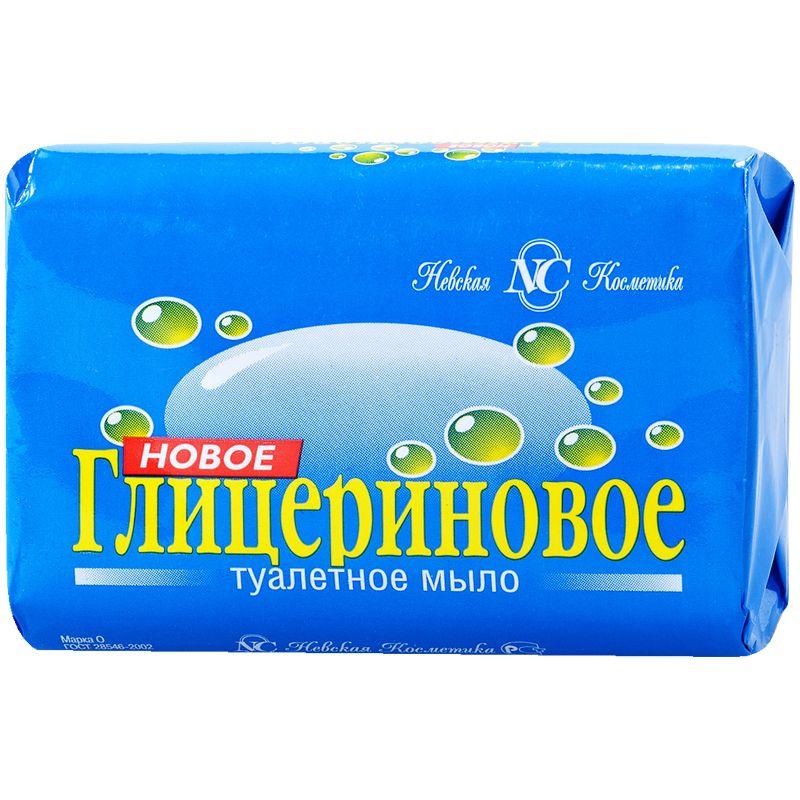 Купить Мыло туалетное Невская Косметика Новое глицериновое , 90гр, Россия