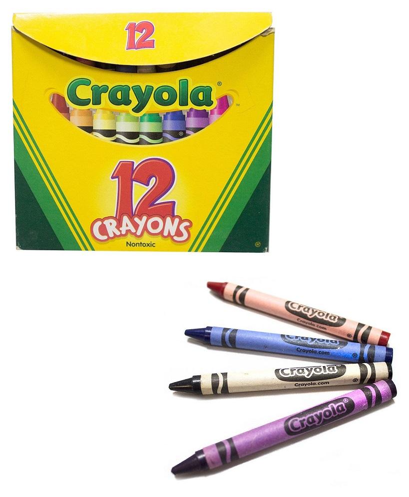 Разноцветные мелки Crayola, 12шт. фото