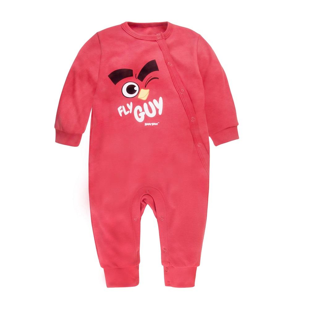 Купить Комбинезон Bossa Nova Angry Birds без лапок, розовый, Бонус, Россия, Розовый, 74