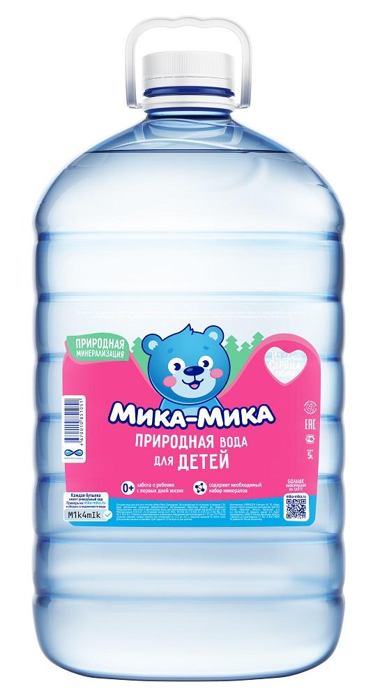 """Вода """"Мика-Мика"""" негазированная, 5л, Мика?Мика, Россия  - купить со скидкой"""