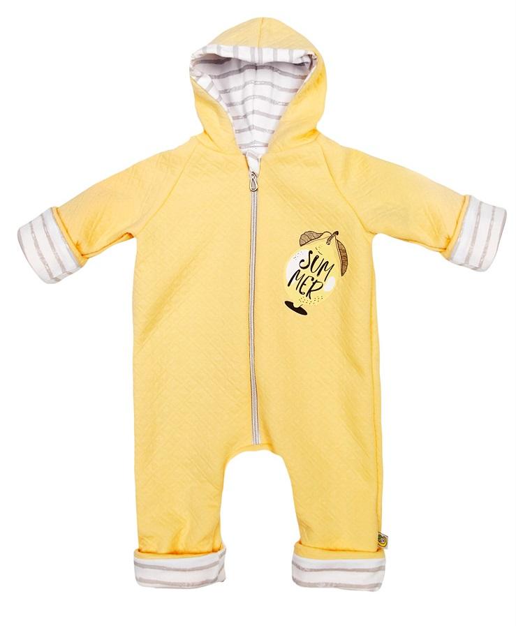 Купить Комбинезон Сонный Гномик Лимончелло , желтый, Polini Kids, Россия, Желтый, 68