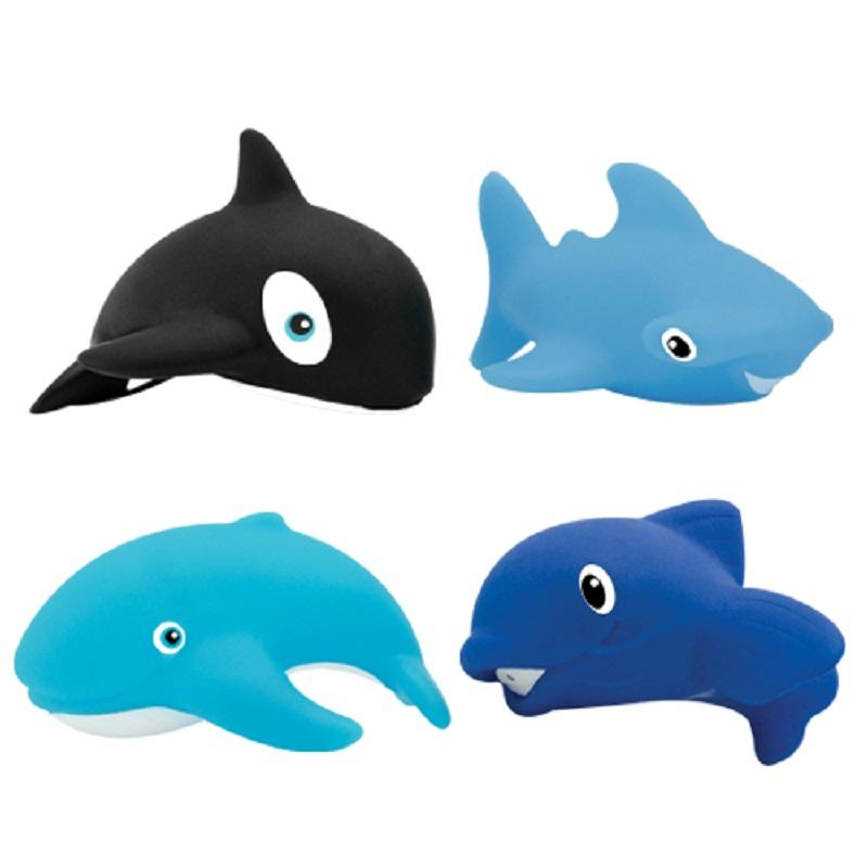 Купить Набор игрушек для купания Lubby Морской мир , 4шт., Швейцария