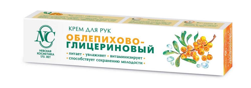 Купить Крем для рук Невская Косметика Облепихово-глицериновый , 50мл, Россия