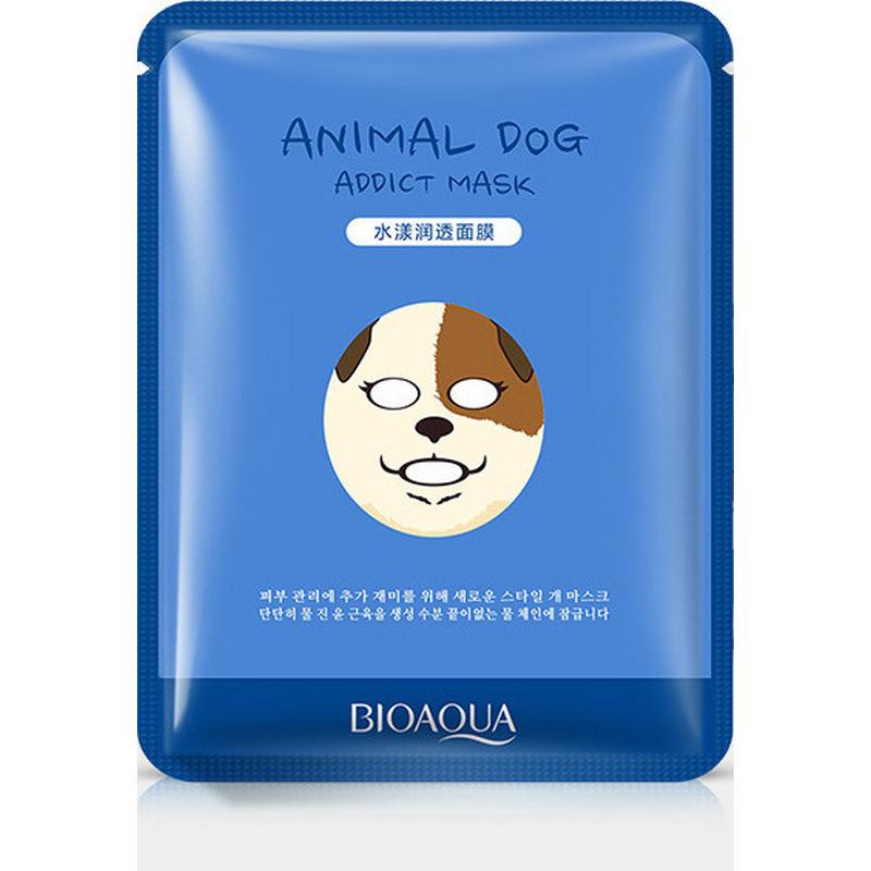 Купить Увлажняющая маска BioAqua Animal Face Dog, 30гр, Китай