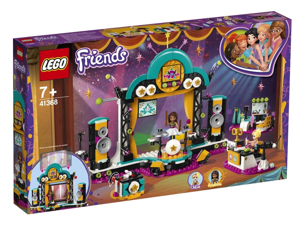 """Конструктор LEGO Friends 41368 """"Шоу талантов"""", 492 детали"""