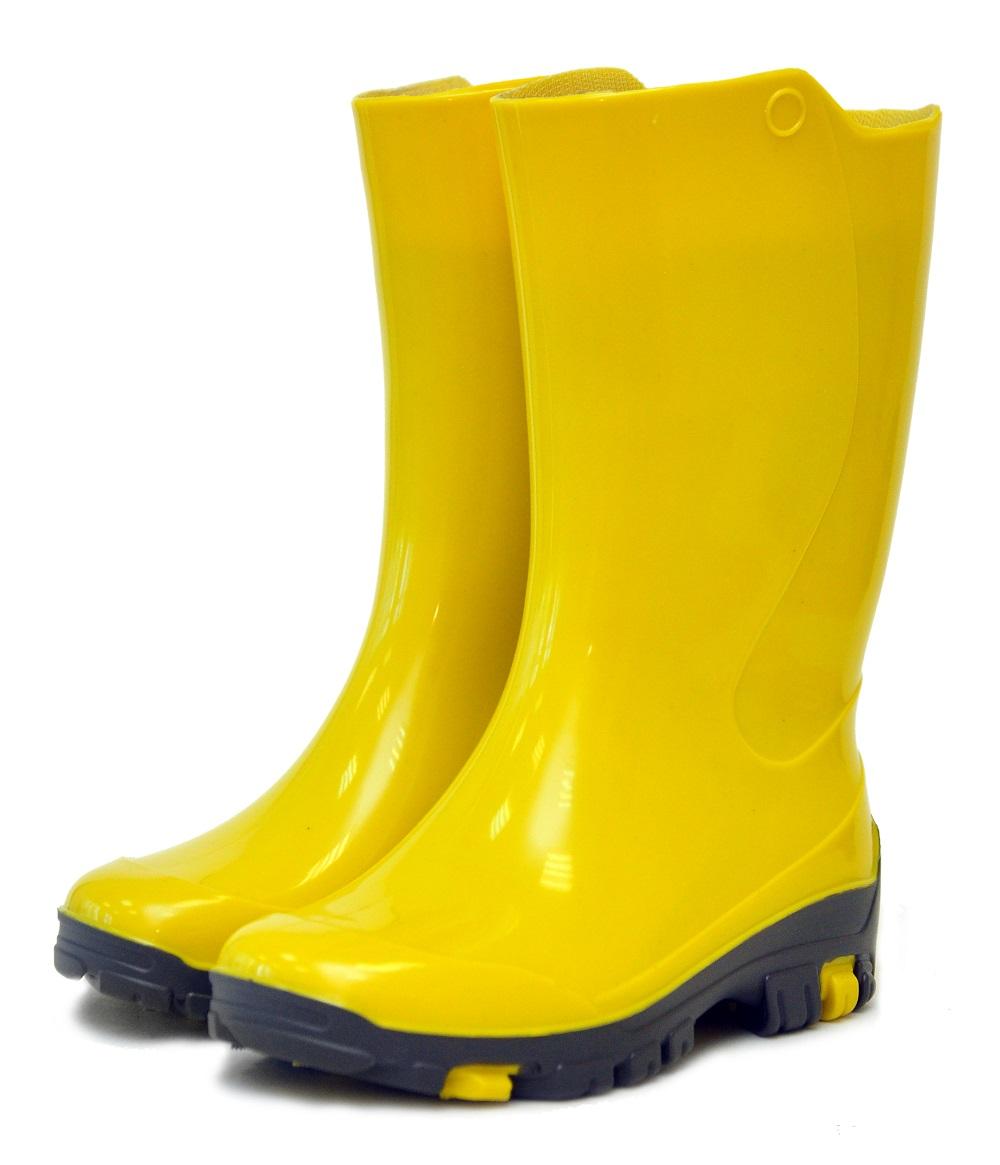 Резиновые сапоги Nordman Rain ПС 19 УФ, желтые - купите по низкой цене в интернет-магазине Helptomama