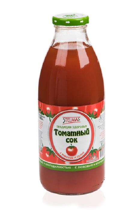 Сок Stelmas томатный, 0,73л