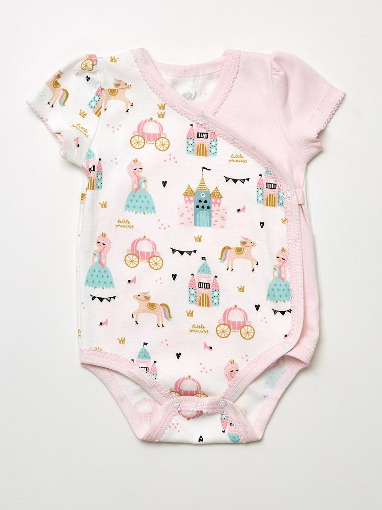 Купить Боди UMKA 409-012-02-192 детское, розовое, CS Medica, Россия, Розовый, 62
