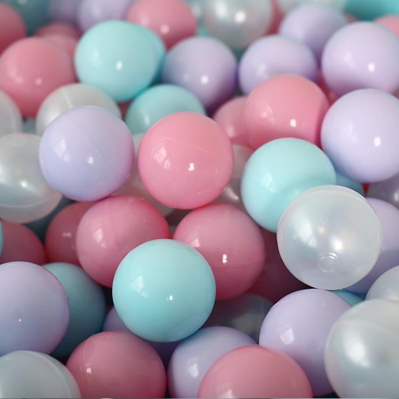 Набор шариков для сухого бассейна Romana Airball, розовый
