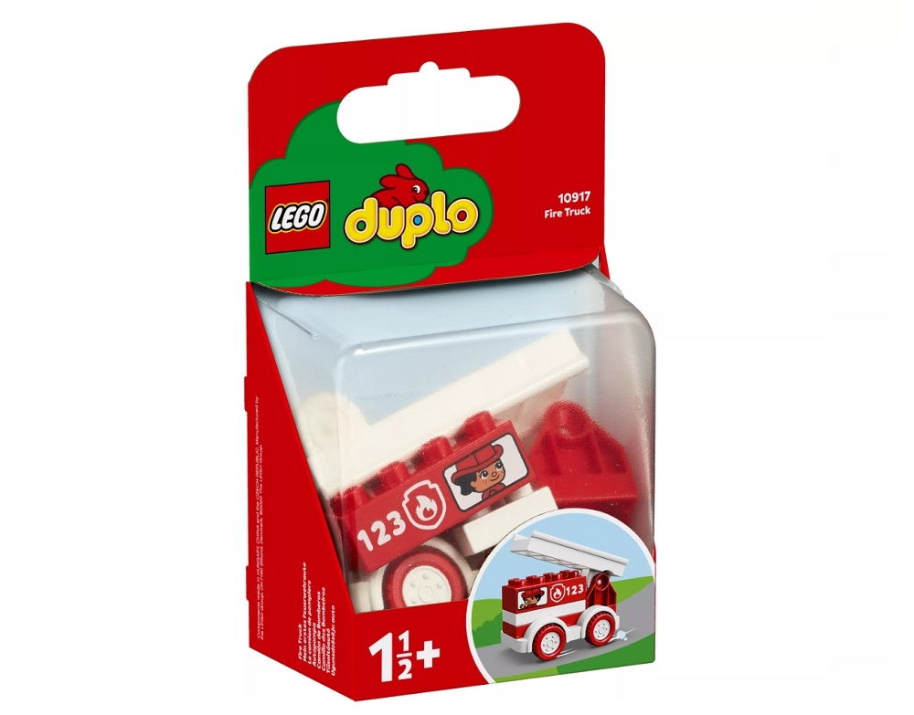 Конструктор LEGO Duplo 10917 #and#quot;Пожарная машина#and#quot;, 6 деталей