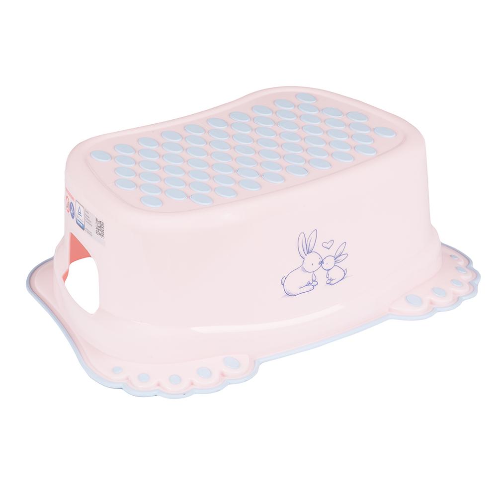 Купить Подставка под ножки Tega Кролики , Little Angel, Россия, Розовый