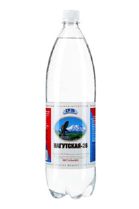 """Вода минеральная лечебно-столовая """"Нагутская №26"""", 1,5л"""