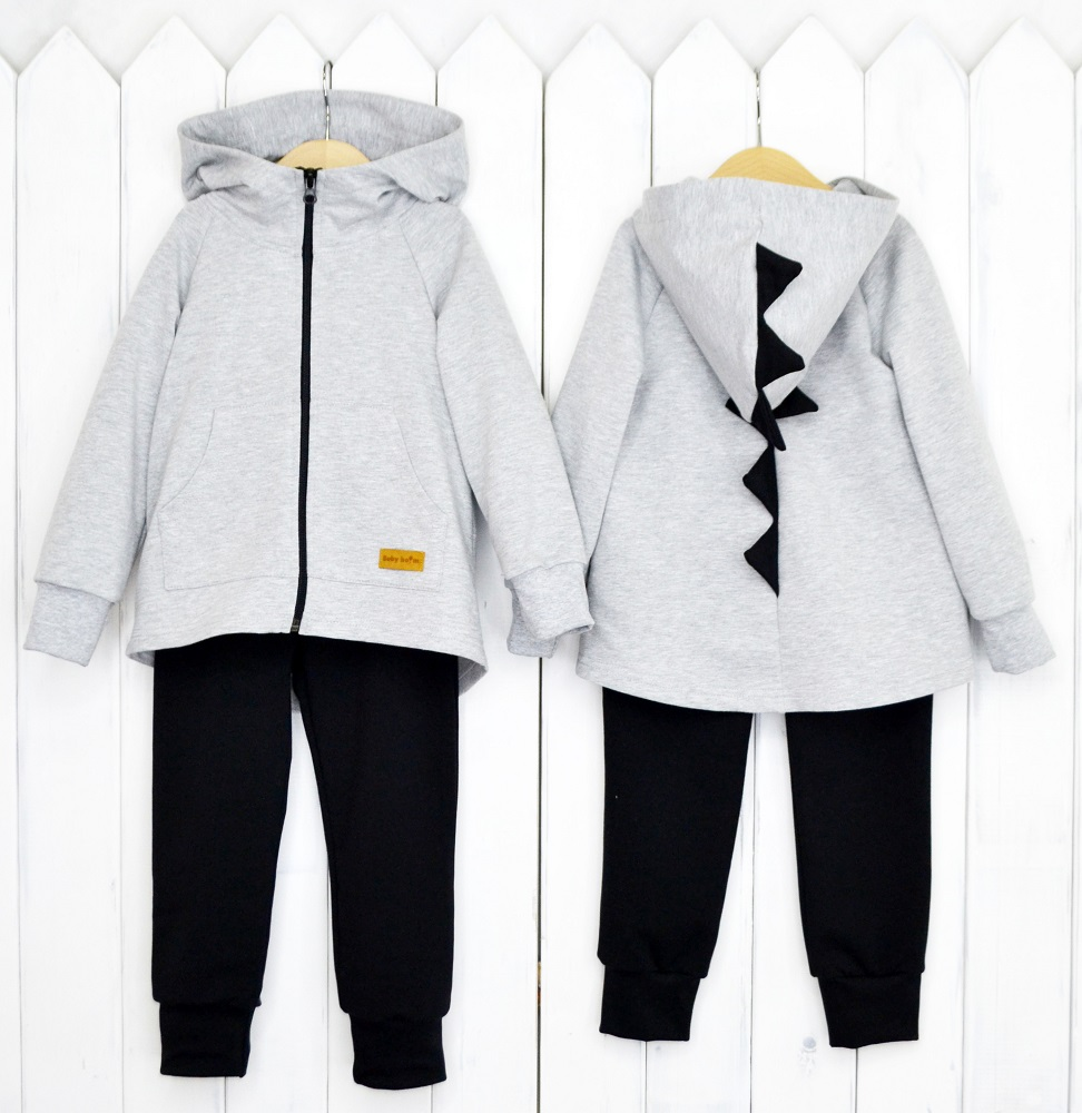 "Комплект Baby Boom ""Дино"": куртка и брюки фото"