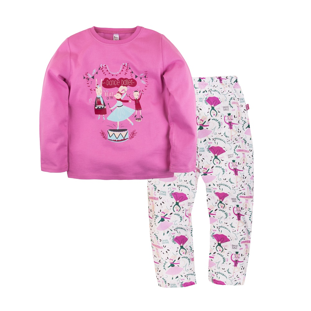"Пижама Bossa Nova ""Маэстро"" для девочки: джемпер и брюки фото"