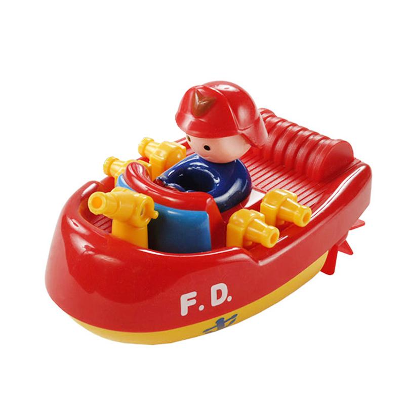 """Заводная игрушка Bampi """"Пожарная лодка"""""""