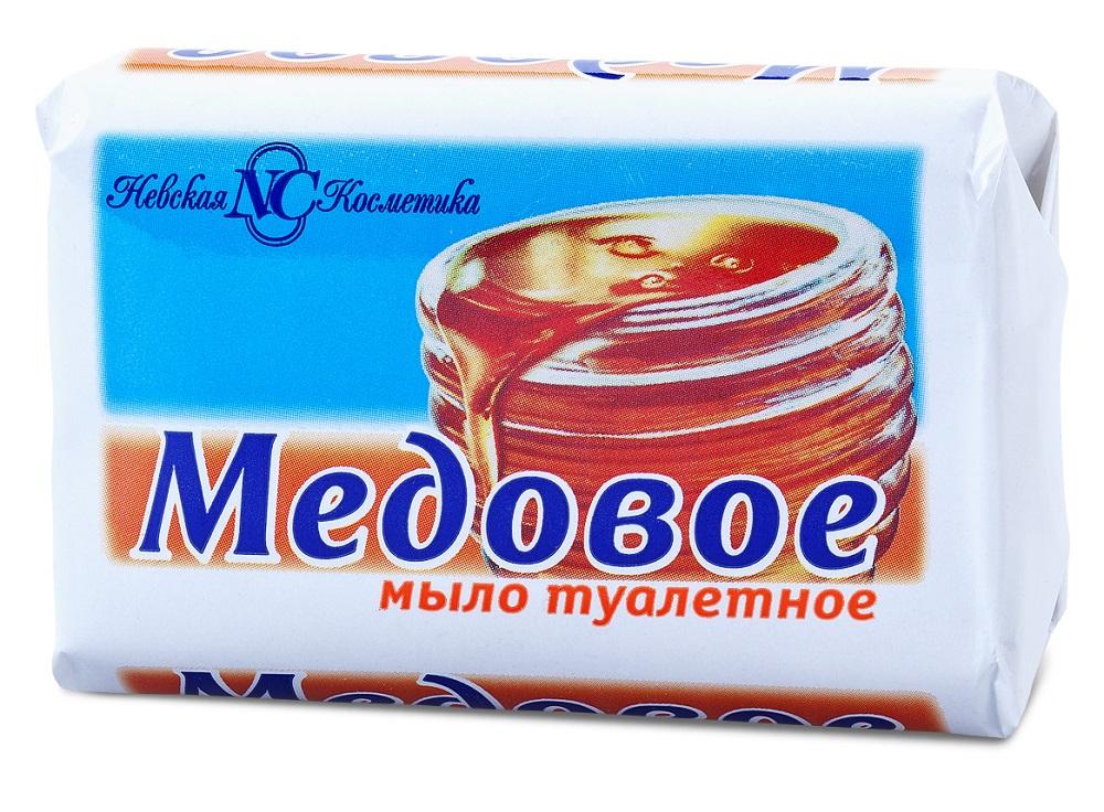 Купить Мыло туалетное Невская Косметика Медовое , 90гр, Россия