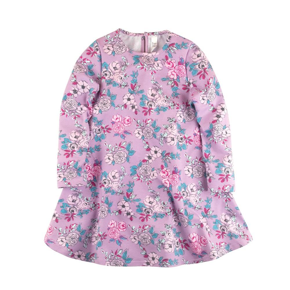 Купить Платье Bossa Nova Майя трапецевидного силуэта, сиреневое, Hasbro, США, Сиреневый, 128
