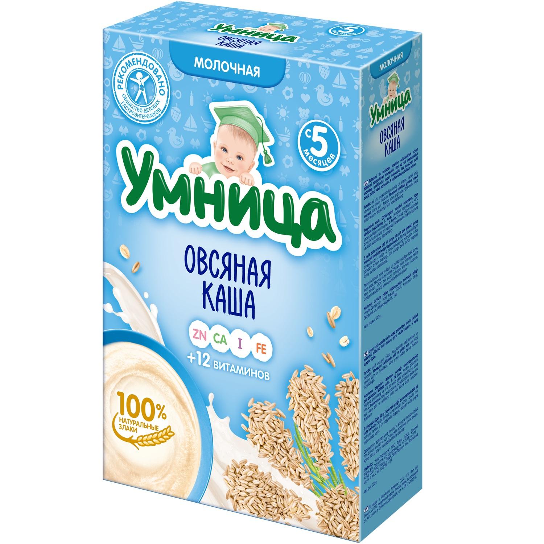 Купить Каша Умница молочная овсяная, 200гр, Россия