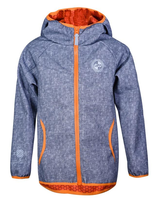 "Куртка для мальчика Sherysheff ""Softshell"", серый фото"