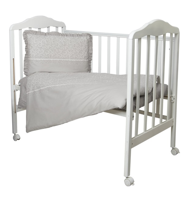 Купить Комплект постельного белья Сонный Гномик Версаль , дымчато-бежевый, Россия