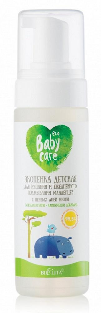 Экопенка Белита Baby Care для купания и ежедневного подмывания младенцев, 175мл фото