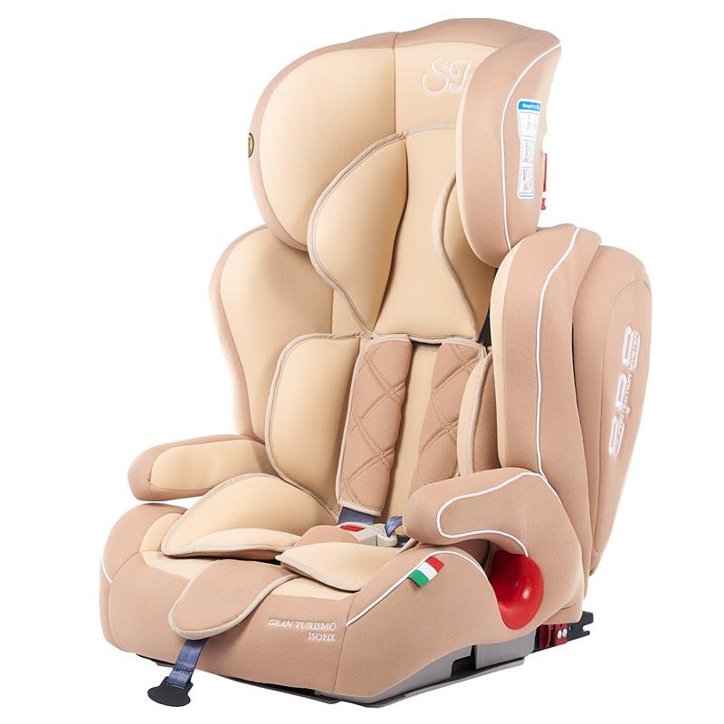Автокресло Sweet Baby Gran Turismo SPS Isofix цвет Beige, 9-36кг
