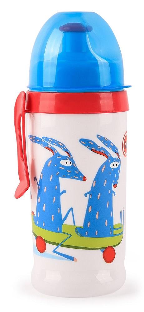 Купить Поильник Happy Baby Feeding Cup Sky с прищепкой, 360мл, Россия